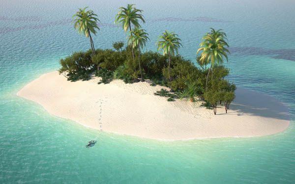Vacaciones en una isla desierta