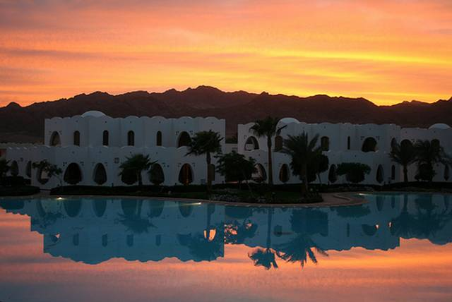 Atardecer en el Sinaí