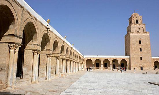 Mezquita en Tunez