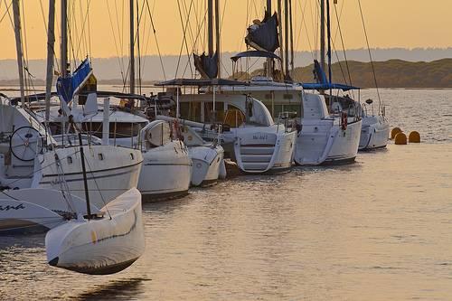 Puerto El Rompido en Huelva