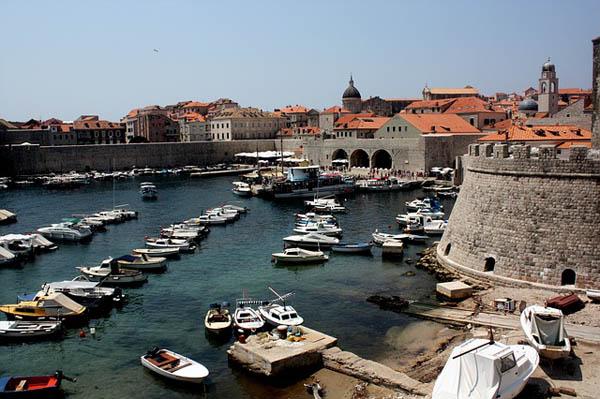 Puerto y muralla de Dubrovnik