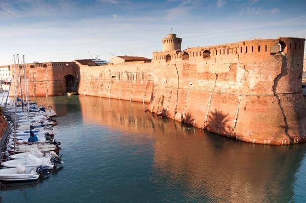 Fortezza Vecchia en Livorno