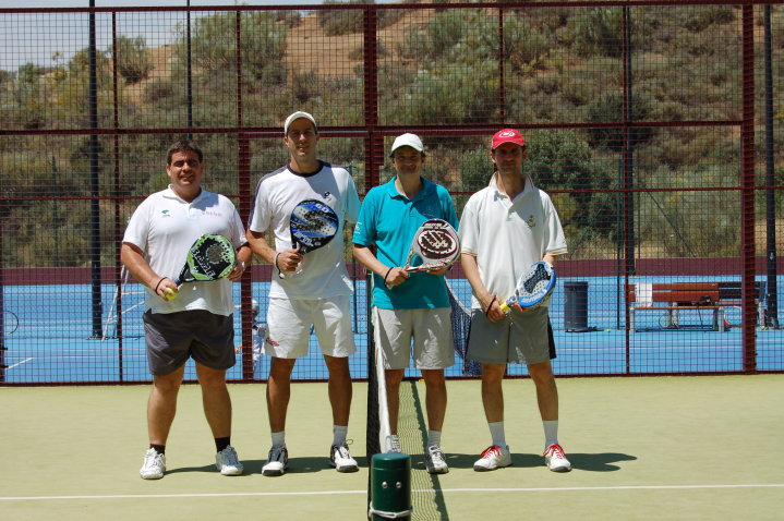 Participantes torneo padel
