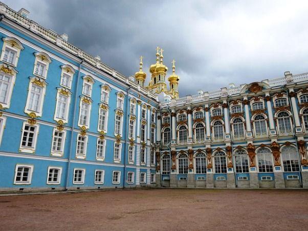 Palacio de Catalina en San Petersburgo 2