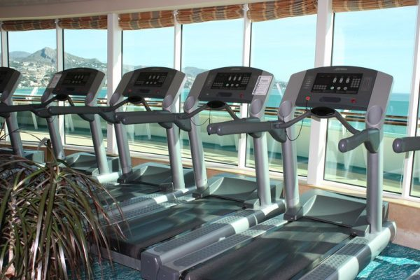 Crucero Adventure of the Seas: Gimnasio.