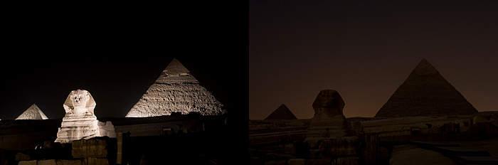 La hora del planeta en Egipto