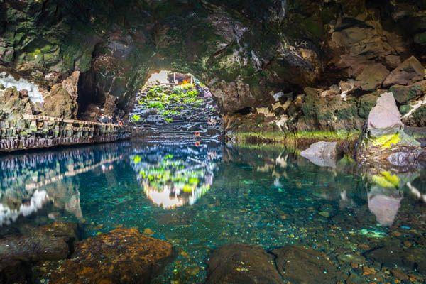 Cueva de los Verdes Jameos del Agua Lanzarote