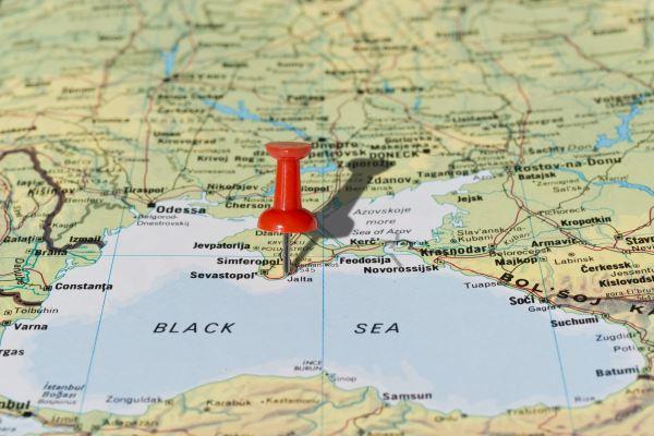 Yalta en el mapa