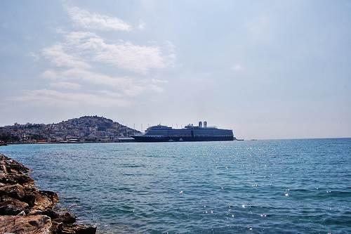 Kusadasi en la costa turca