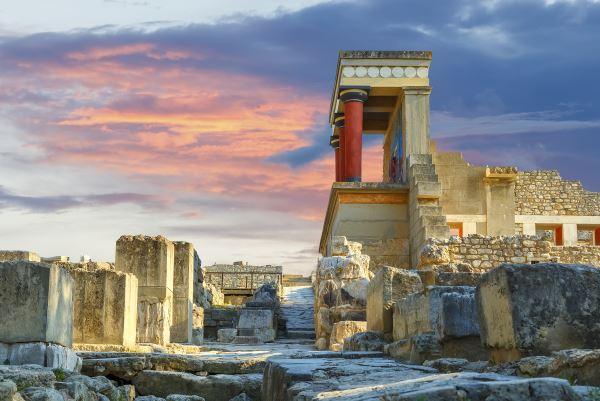 Palacio Knossos en Creta