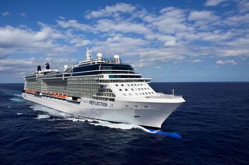 Aerial Celebrity Eclipse Celebrity Eclipse - Celebrity Cruises