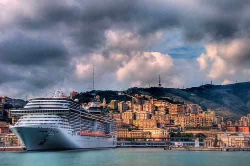 Moody Weather over Genova