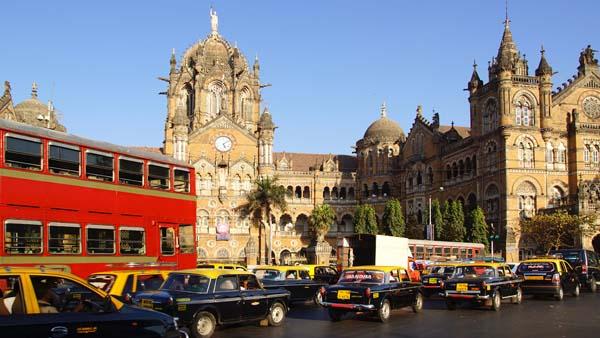 Estación Victoria en Bombay
