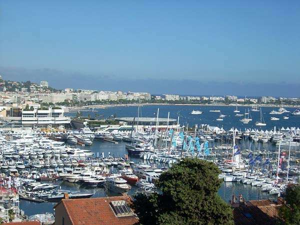 Vistas de Cannes