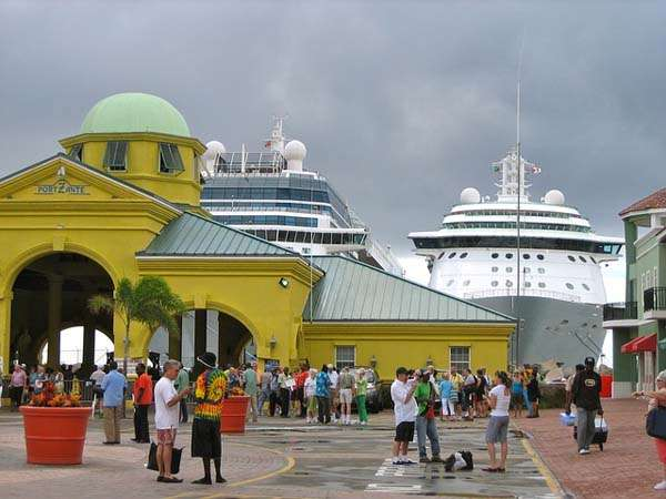 Puerto St Kitts en Crucero
