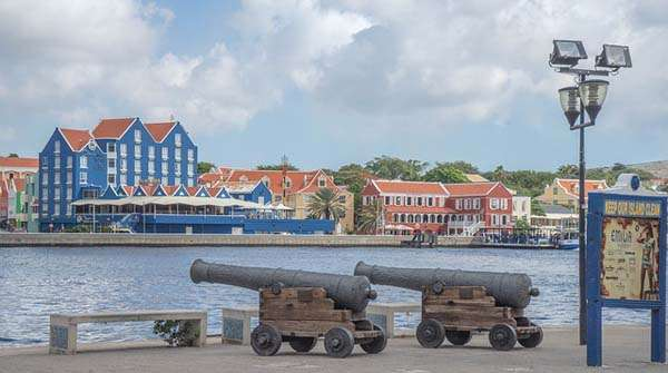 Willemstadt en Curaçao