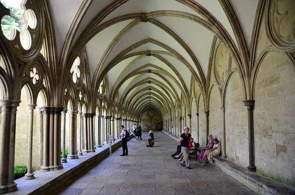 Claustro de la Catedral de Canterbury