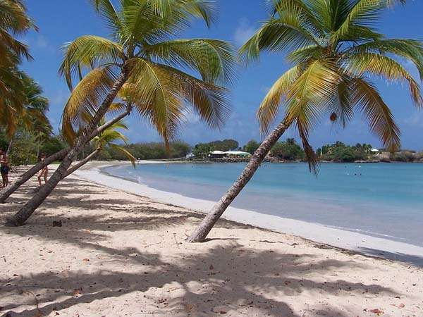 Playa en Martinica