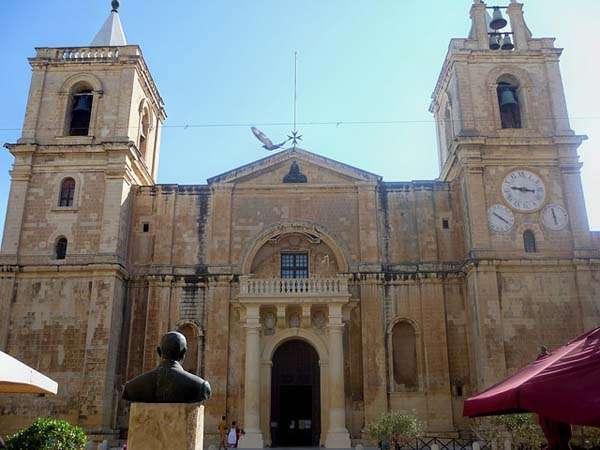 Catedral de San Juan en La Valetta