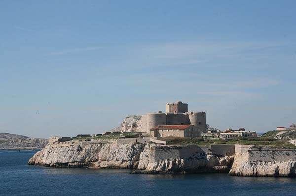 Marsella - castillo de If