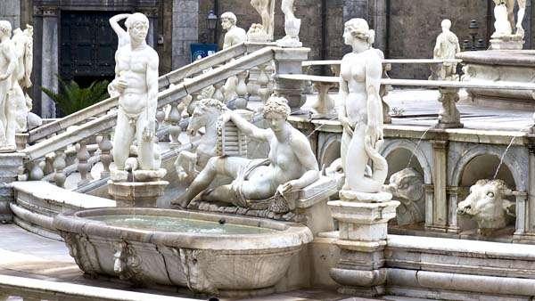 plaza en Palermo