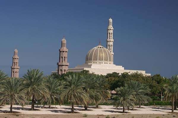 Mezquita en Muscat Omán