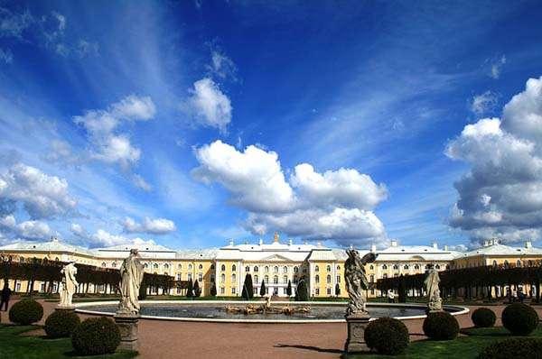 Palacio Peterhof 1