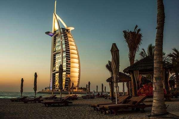 Burj el Arab en Dubai