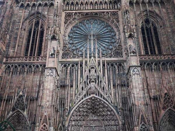 Catedral de Estrasburgo rosetón
