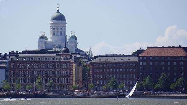 Catedral de Helsinki, vistas