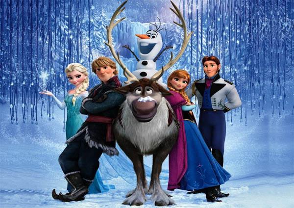 Frozen personajes