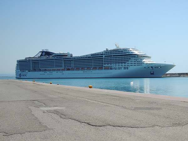 MSC Crucero en Olympia Grecia