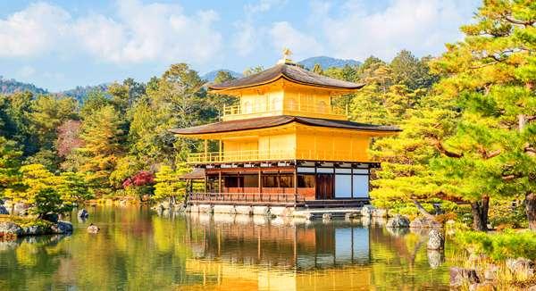 Golden Pavillion en Tokio Japon