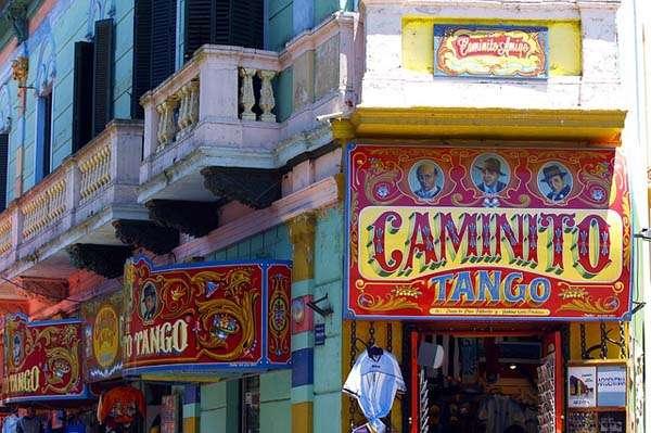 calle Caminito en Buenos Aires
