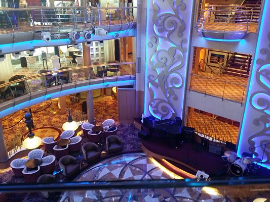 Interior del Brilliance of the Seas