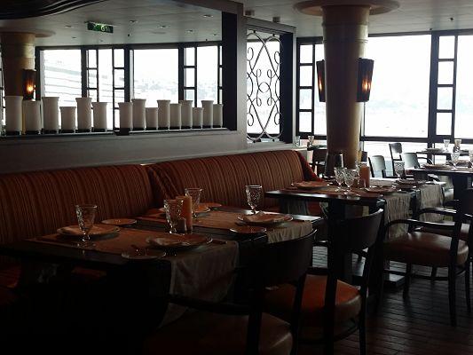 Restaurante de especialidad en el Brilliance of the Seas