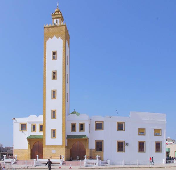 Mezquita en Agadir