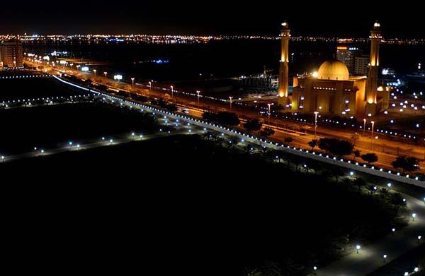 Bahrein de noche