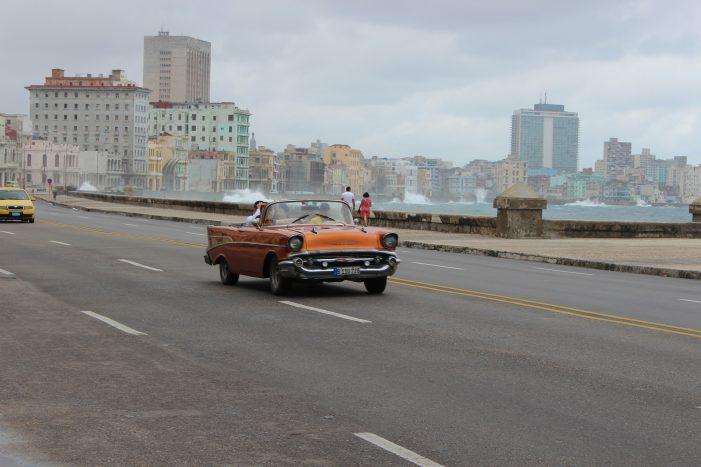 El Malecón en La Habana