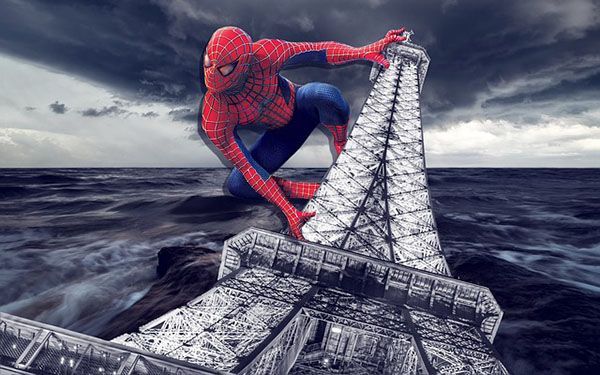 Spiderman en crucero Disney
