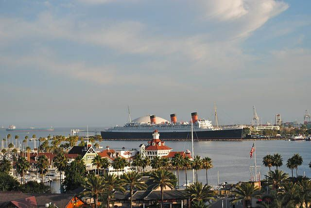 Queen Mary 2 en Long Beach