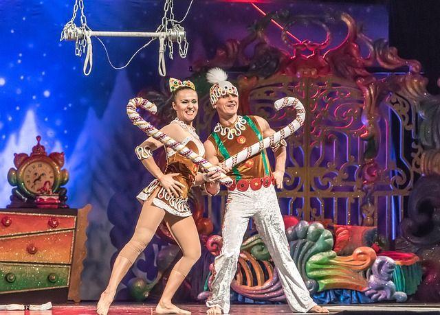 Cirque du Soleil en el MSC Meraviglia