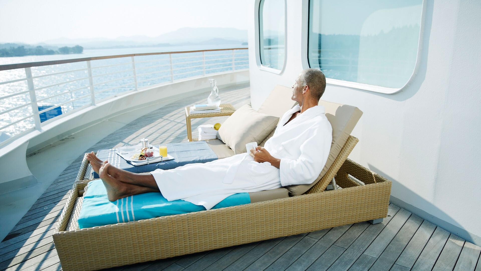 Descanso en el crucero