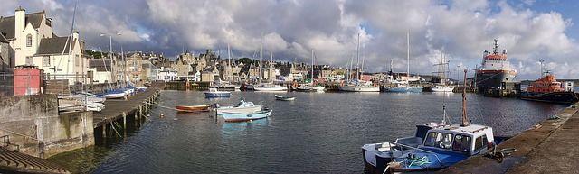 Lerwick Islas Shetland Escocia