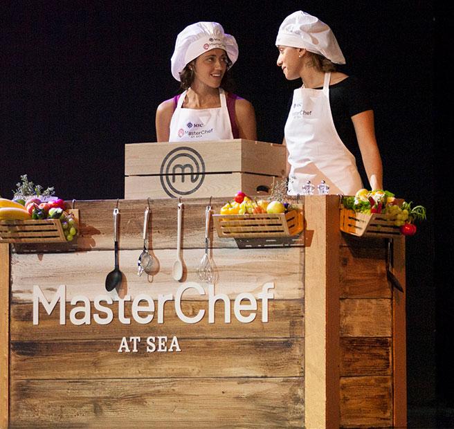 MasterChef at the sea