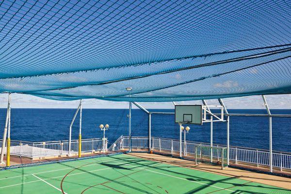 Practicar deporte en un crucero