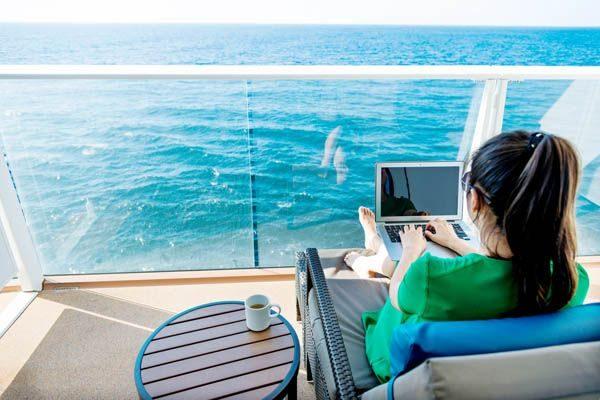 internet en cruceros