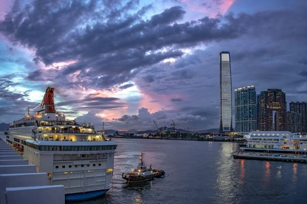 Crucero en Hong Kong