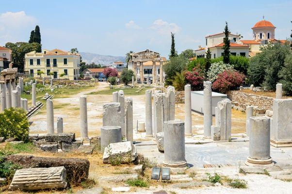 Un día en Atenas - el Ágora