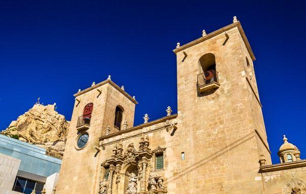 Iglesia de Santa María en Alicante